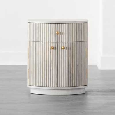 Cameo Curved Nightstand - CB2