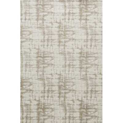 Bixby Abstract Handmade Tufted Taupe Area Rug - Wayfair
