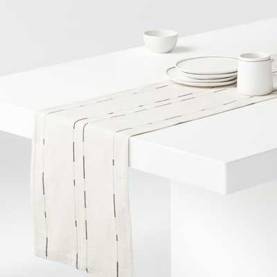 """Covina 90"""" Table Runner - Crate and Barrel"""