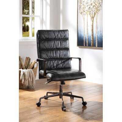 Ciel Genuine Leather Executive Chair - Wayfair