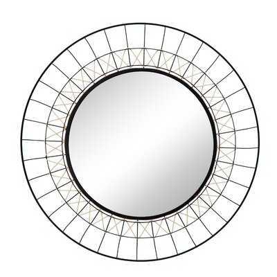 Gallaudet Metal Beveled Wall Mirror - Wayfair