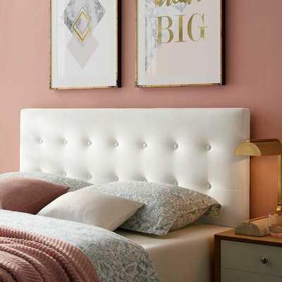 Corneau Upholstered Panel Headboard - Wayfair