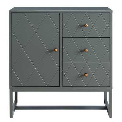 Jaasia 1 Door Accent Cabinet - Wayfair