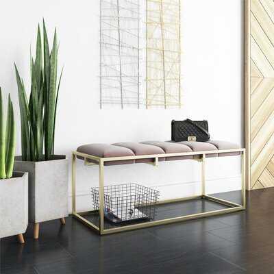 CosmoLiving by Cosmopolitan Freya Upholstered Bench - Wayfair