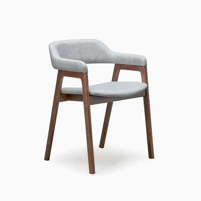 Abilene Chair Kit Fabric Walnut - West Elm