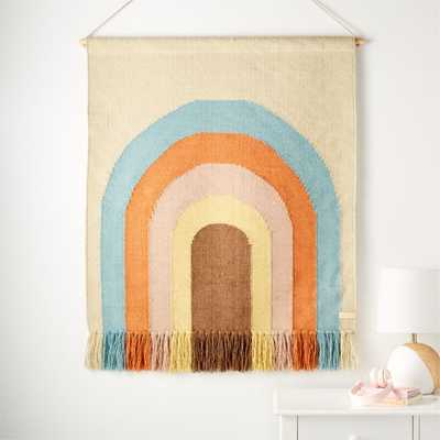Follow the Rainbow Wall Rug - Crate and Barrel