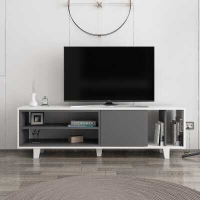 """Auguste TV Stand for TVs up to 70"""" - Wayfair"""