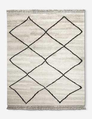 Aya Moroccan Shag Rug, 8' x 10' - Lulu and Georgia