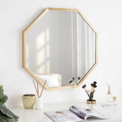 Mercer41 Laverty Framed Octagon Wall Mirror 28X28 Gold - Wayfair