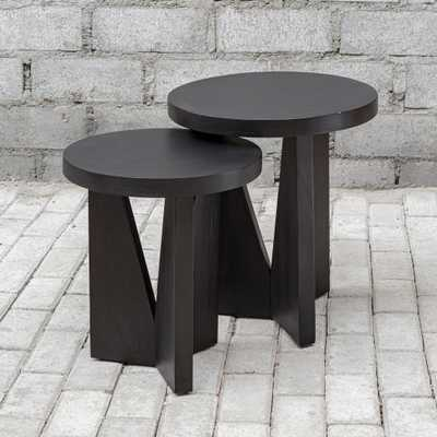Nadette Nesting Tables, S/2 - Hudsonhill Foundry