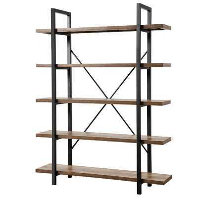Antonioni Large Open Etagere Bookcase - Wayfair