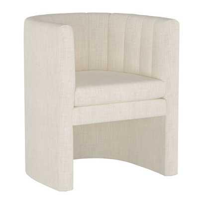 Barkley Chair in Linen Talc - Third & Vine