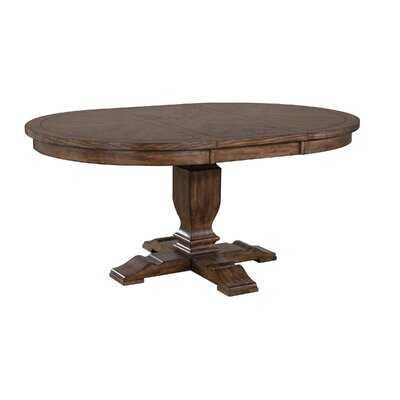 """Grissett 48"""" Extendable Pedestal Dining Table - Wayfair"""