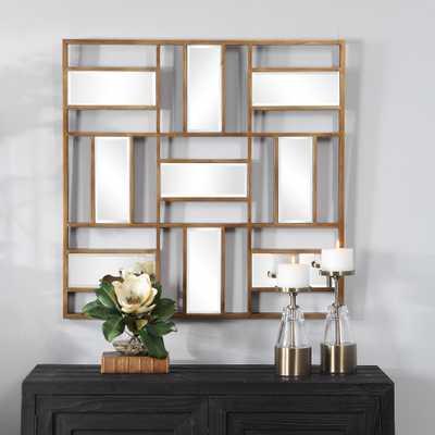 Nadina Mirrored Wall Decor - Hudsonhill Foundry
