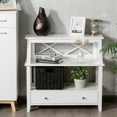Solid Wood End Table Storage - Wayfair
