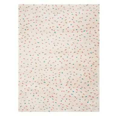 Ids Confetti Dot Rug, 8x10, Ivory Multi - Pottery Barn Teen