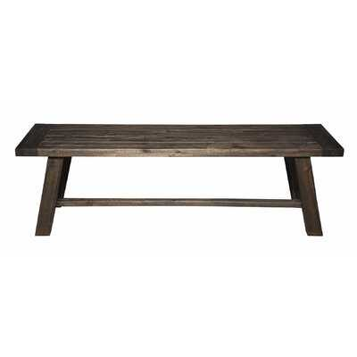 Fahey Wood Bench - Wayfair