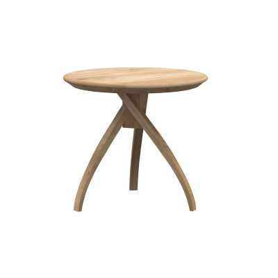 "Ethnicraft Twist End Table 16"" - Perigold"