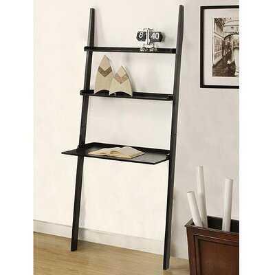 Tyriq Ladder Bookcase - black - Wayfair