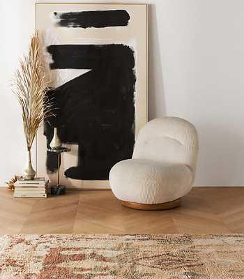 Maren Swivel Chair By Anthropologie in Assorted - Anthropologie