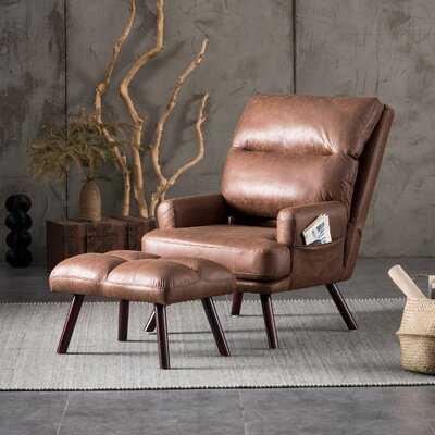Melo Adjustable Lounge Chair and Ottoman - Wayfair