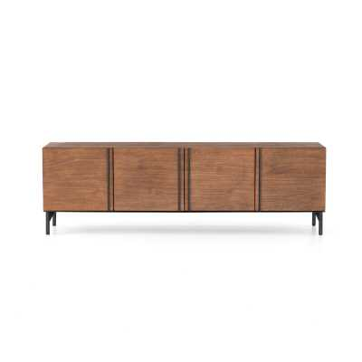 """Four Hands Bowery Solid Wood TV Stand for TVs up to 65"""" - Perigold"""