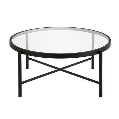 Olson Cross Legs Coffee Table - AllModern