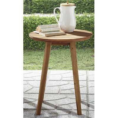 Scheffer Wooden Side Table - Wayfair