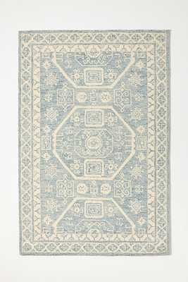 Hand-Tufted Branwyn Rug By Anthropologie in Blue Size 8 x 10 - Anthropologie