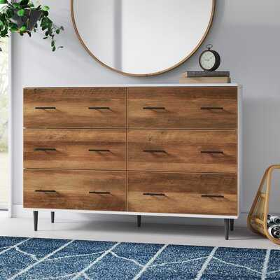"Luisa 52"" Wide 6 Drawer Sideboard - AllModern"
