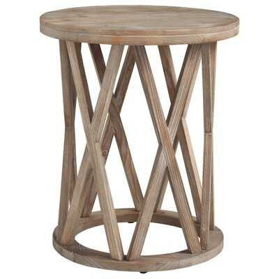 Solid Wood Frame End Table - Wayfair