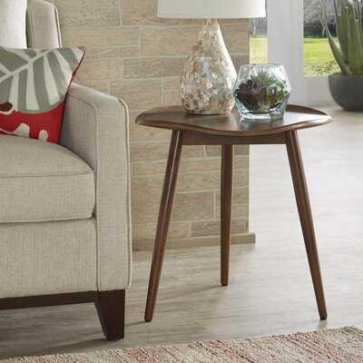 Hartville Solid Wood 3 Legs End Table - Wayfair