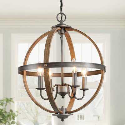 Slay 3 - Light Globe Chandelier - Wayfair