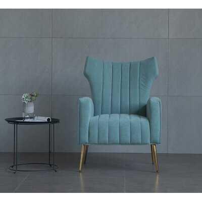 Lauretta Wingback Chair - Wayfair