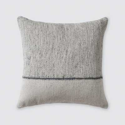 Claro Pillow - Grey - 20 in. x 20 in. By The Citizenry - The Citizenry