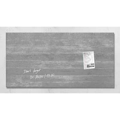 Sigel Magnetic Wall Mounted Dry Erase Board - AllModern
