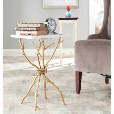 Tamara Figurine End Table - Wayfair