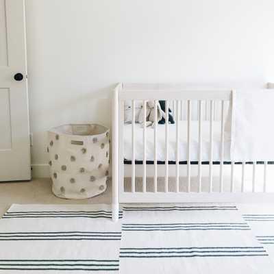 Cozy Earth Modern Classic White Bamboo Crib Sheet - Kathy Kuo Home