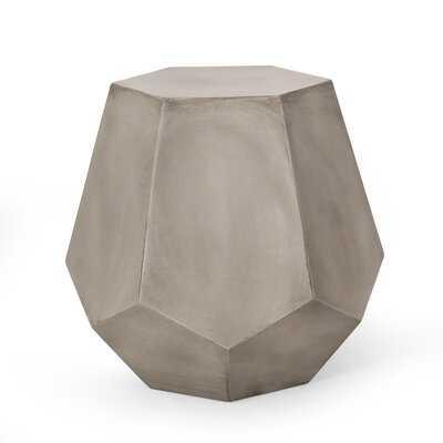 McKinley Concrete Side Table - Wayfair