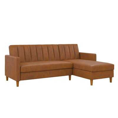 Stewart Futon Reversible Sleeper Sectional - Wayfair