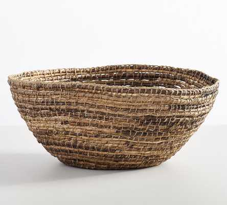 Wynne Coil Abaca Bowl - Pottery Barn