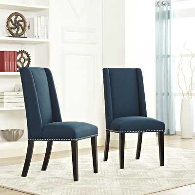Galewood Wood Leg Upholstered Dining Chair - Wayfair
