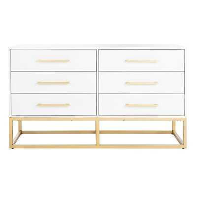 Mindy 6 Drawer Double Dresser - AllModern