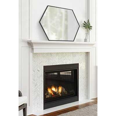 Tona Mid Century Hexagon Beveled Accent Mirror - AllModern