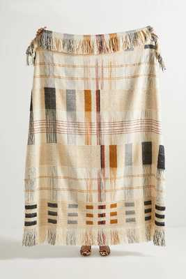 Oxford Throw Blanket - Anthropologie