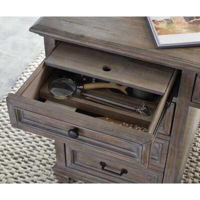 Finkel Solid Wood Executive Desk - Wayfair