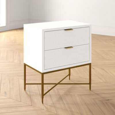 Francesca 2 - Drawer Nightstand - Wayfair