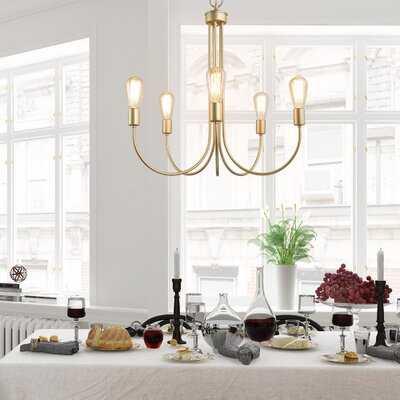 Lakewood 6 - Light Candle Style Classic Chandelier - Wayfair