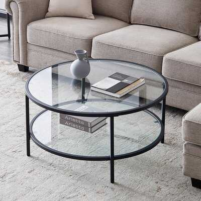Brebner Coffee Table with Storage - Wayfair