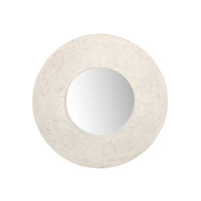 Phillips Collection Stonecast Modern & Contemporary Wall Mirror - Perigold